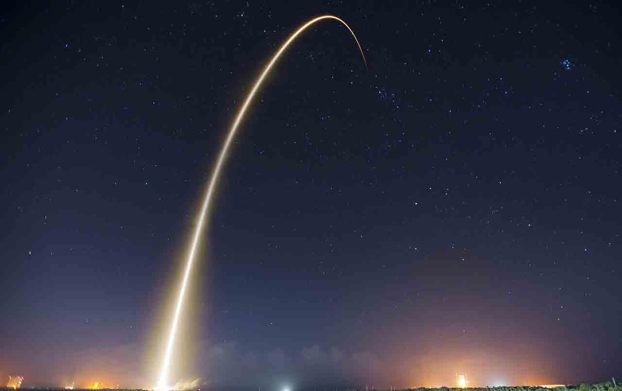 Novo foguete chinês Longa Marcha 8 faz voo inaugural. Foto: pixabay