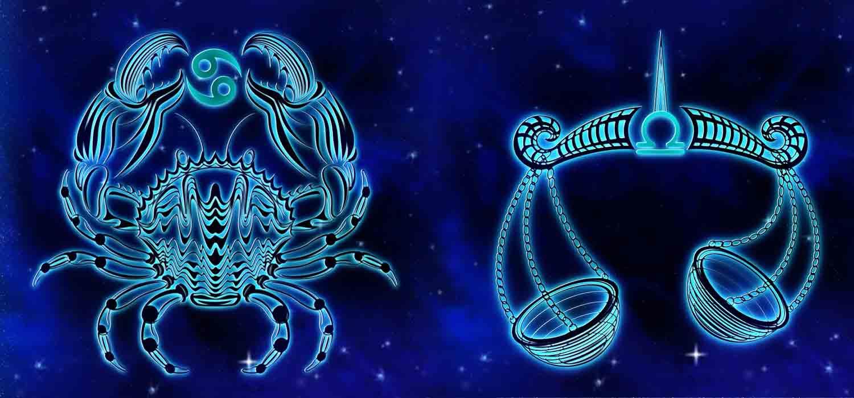 Combinação de signos – Câncer e Libra . Foto: Pixabay