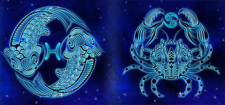 Combinação de signos – Peixes e Câncer . Foto: Pixabay