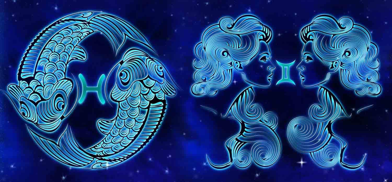Combinação de signos – Peixes e Gêmeos . Foto: Pixabay