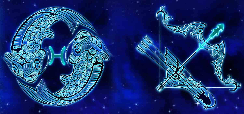 Combinação de signos – Peixes e Sagitário . Foto: Pixabay