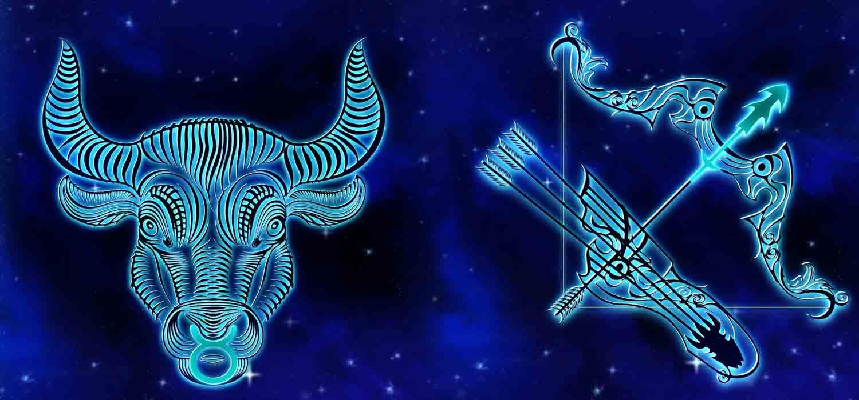 Combinação de signos – Touro e Sagitário . Foto: Pixabay